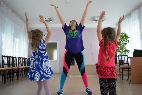 Первая тренировка Zumba® для детей!